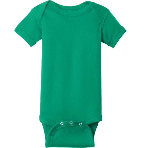 Picture of Infant Short Sleeve Baby Rib Bodysuit